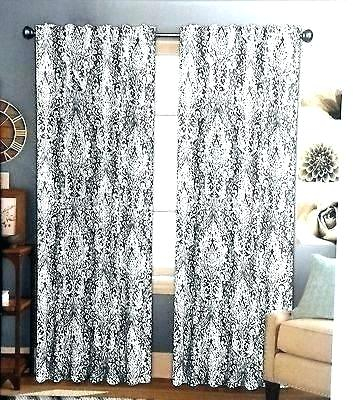 Moroccan Curtain Panels – Silabs With Moroccan Style Thermal Insulated Blackout Curtain Panel Pairs (View 13 of 50)
