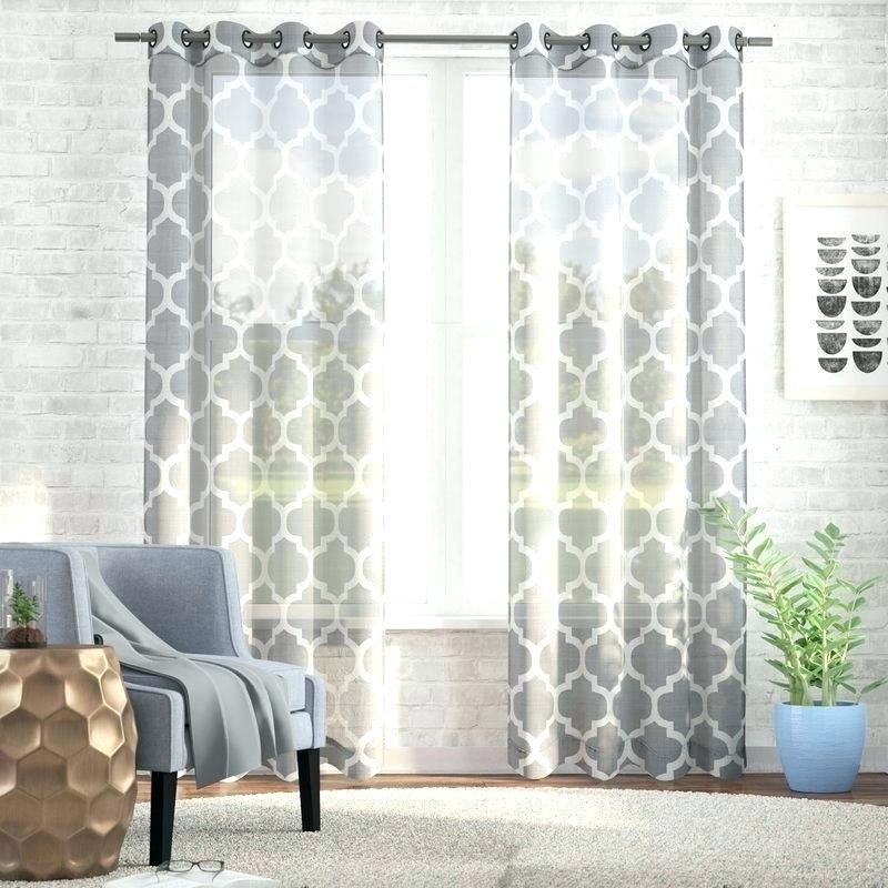 Moroccan Curtain Panels – Talkme Throughout Moroccan Style Thermal Insulated Blackout Curtain Panel Pairs (View 46 of 50)