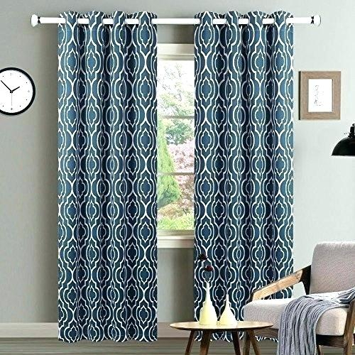 Moroccan Curtain Panels – Wpventures For Moroccan Style Thermal Insulated Blackout Curtain Panel Pairs (View 6 of 50)