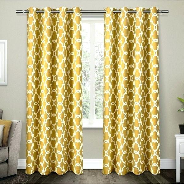Moroccan Curtains And Drapes – Iceprocoin With Regard To Woven Blackout Curtain Panel Pairs With Grommet Top (#34 of 42)