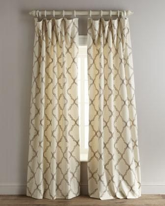 Moroccan Pattern Curtains – Home Ideas Inside Edward Moroccan Pattern Room Darkening Curtain Panel Pairs (View 27 of 50)