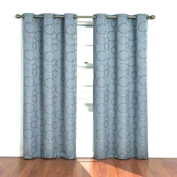 Navy Blue Curtain Panels – Portugalplaces Inside Meridian Blackout Window Curtain Panels (#38 of 50)