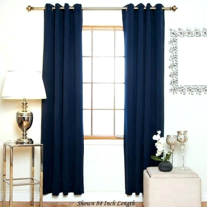 Navy Blue Print Curtains Navy And Grey Curtains Blue And Within Grey Printed Curtain Panels (View 35 of 48)