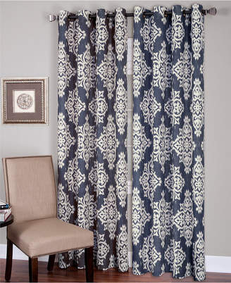 Navy Linen Drapery – Shopstyle With Regard To Archaeo Slub Textured Linen Blend Grommet Top Curtains (View 21 of 37)