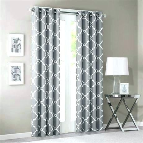 Navy Print Curtains – Chesapeakecsb With Fretwork Print Pattern Single Curtain Panels (View 27 of 46)