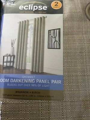 New Eclipse Solid Thermapanel Room Darkening Curtain Panel For Eclipse Solid Thermapanel Room Darkening Single Panel (#26 of 31)