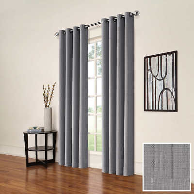 New Eclipse Solid Thermapanel Room Darkening Curtain Panel With Regard To Eclipse Solid Thermapanel Room Darkening Single Panel (#28 of 31)