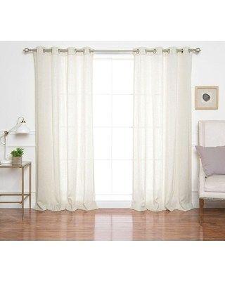 New Linen Grommet Curtains – Blanketmedia (View 24 of 37)