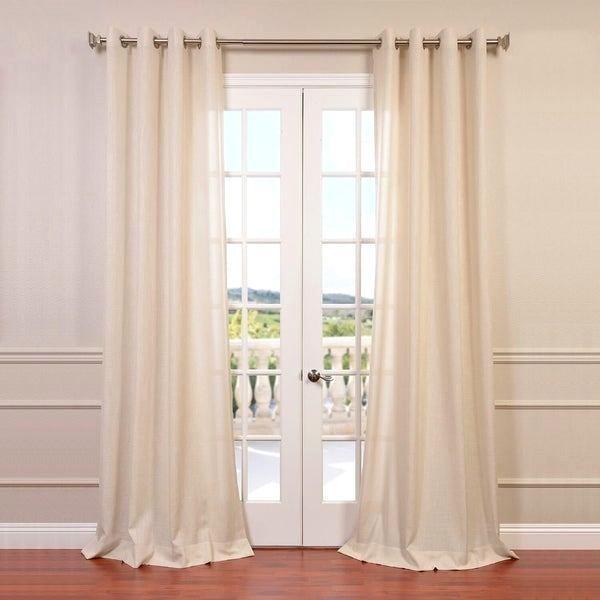New Linen Grommet Curtains – Blanketmedia (View 23 of 37)