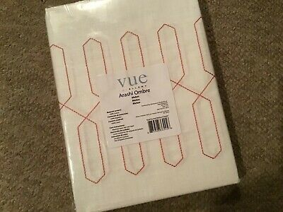 "New Vue Arashi Ombre Embroidered Panel . Melon 52"" X 63"" (View 10 of 50)"