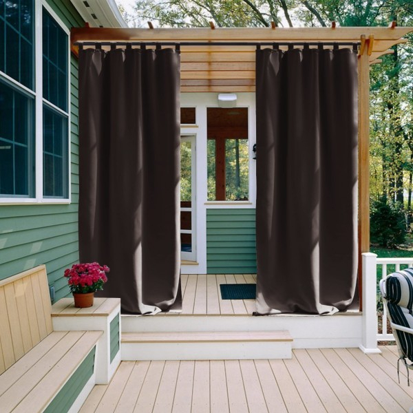 Nicetown All Season Thermal Insulated Tab Top Blackout Within All Seasons Blackout Window Curtains (View 24 of 48)