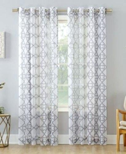No 918 Curtains – Domuspasano Throughout Intersect Grommet Woven Print Window Curtain Panels (View 23 of 50)