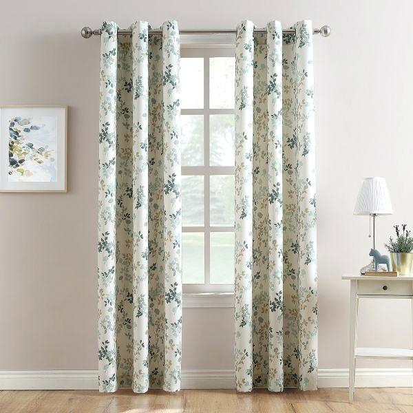 No 918 Curtains Within Intersect Grommet Woven Print Window Curtain Panels (View 25 of 50)