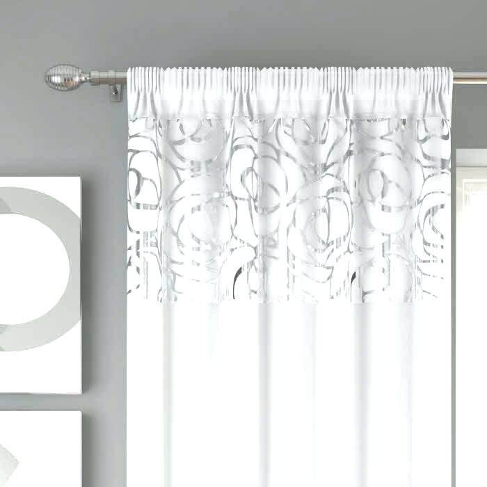 No 918 Emily Sheer Voile Rod Pocket Curtain Panel – Ocefc Intended For Emily Sheer Voile Solid Single Patio Door Curtain Panels (View 23 of 50)