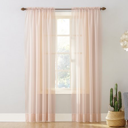 Popular Photo of Emily Sheer Voile Single Curtain Panels