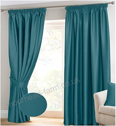 Noah's Linen Pencil Pleat Tape Top Blackout Curtain Pair In Thermal Insulated Blackout Curtain Pairs (View 22 of 50)