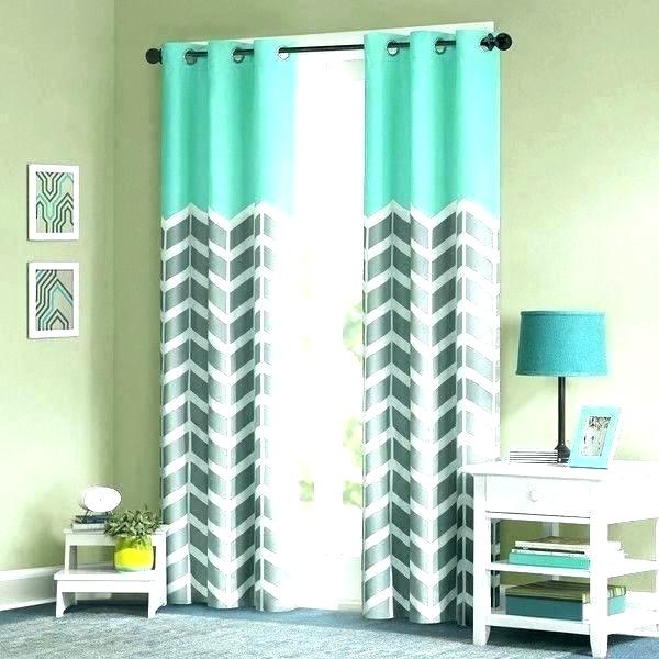 Ombre Curtain Panels Teal Curtains Urban Window Grey Pertaining To Ombre Embroidery Curtain Panels (View 20 of 50)