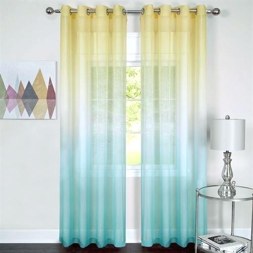 Ombre Sheer Curtains – Bpa (View 13 of 50)