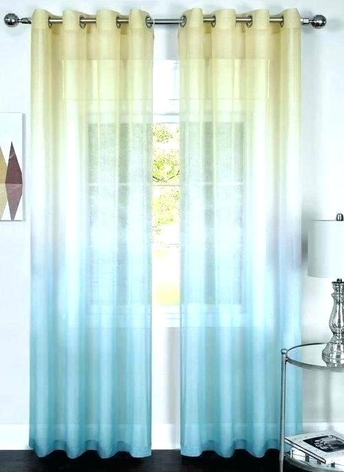 Ombre Sheer Curtains – Bpa (View 46 of 50)