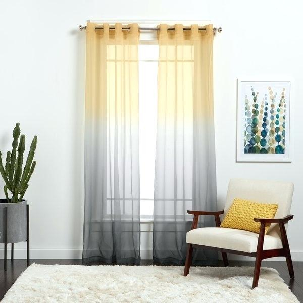 Ombre Sheer Curtains – Bpa (View 49 of 50)