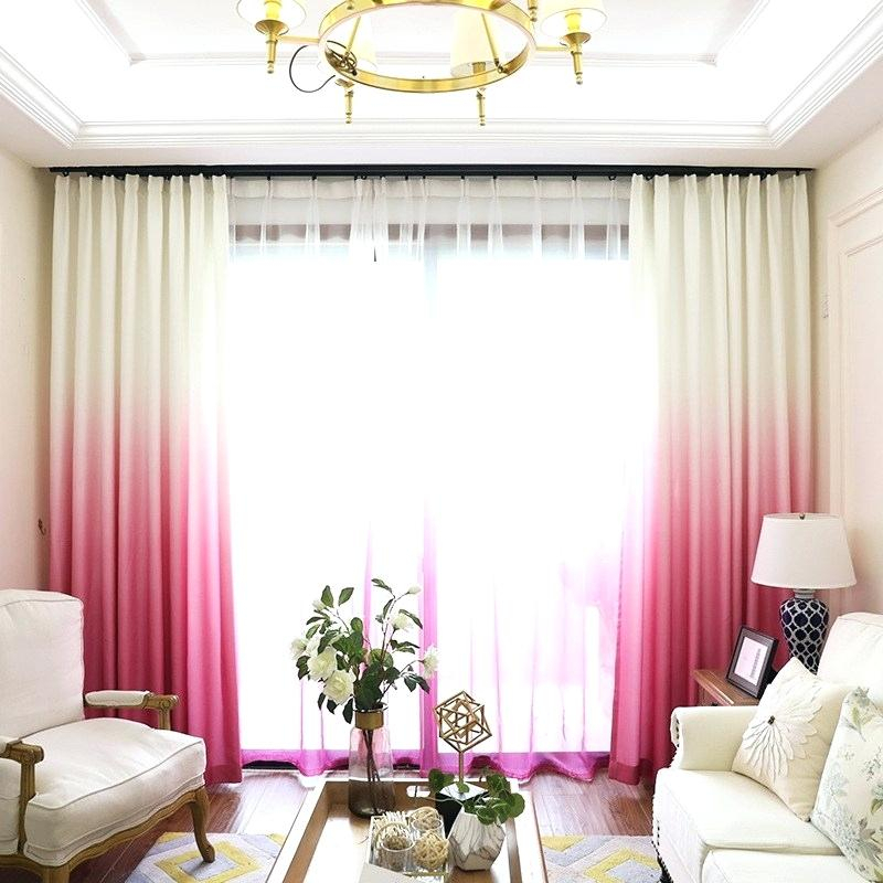 Ombre Sheer Curtains – Bpa (View 25 of 50)