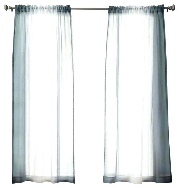 Ombre Sheer Curtains – Cyberjustice (View 5 of 50)