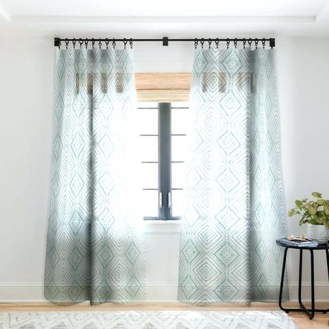 Ombre Sheer Curtains Faux Linen Border Pink Grey Diy With Regard To Ombre Faux Linen Semi Sheer Curtains (#27 of 50)