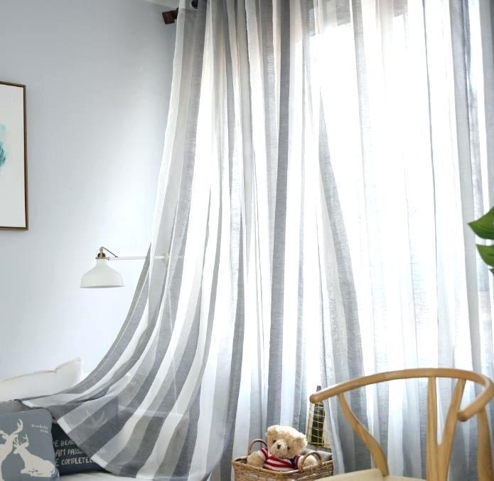 Ombre Sheer Curtains Semi Border Curtain Jade Aqua – Miramir In Ombre Faux Linen Semi Sheer Curtains (#29 of 50)