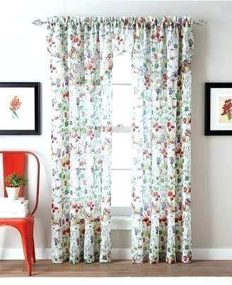 Ortley Crushed Voile Solid Sheer Grommet Curtain Panel Pair Throughout Erica Sheer Crushed Voile Single Curtain Panels (#33 of 41)