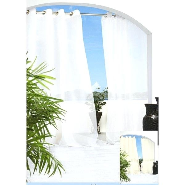 Outdoor Curtain Panels – Sitestudio With Indoor/outdoor Solid Cabana Grommet Top Curtain Panel Pairs (View 35 of 48)