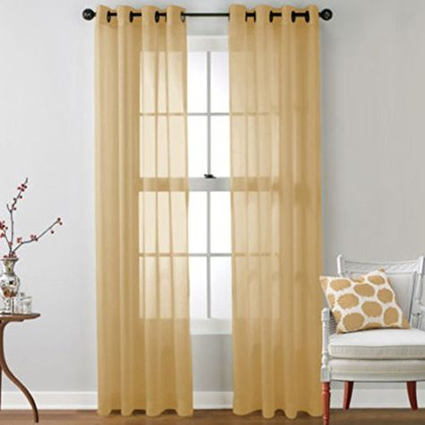 Outdoor Curtains – Peyan Romantic Tulle Voile Door Window For Vina Sheer Bird Single Curtain Panels (#19 of 38)