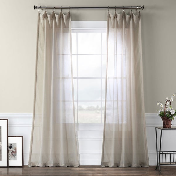 Oven Sheer Curtain Pa – Michaeltaborsky Inside Laya Fretwork Burnout Sheer Curtain Panels (#27 of 38)