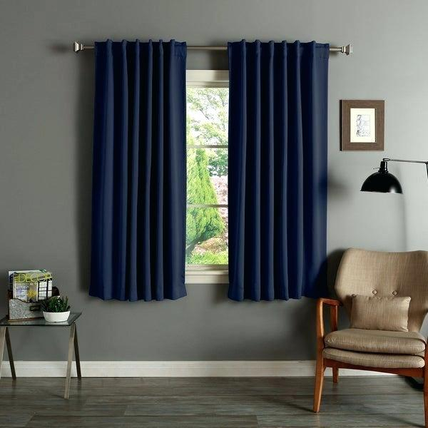 Overstock Blackout Curtains – Waterstewards Inside Solid Cotton True Blackout Curtain Panels (#36 of 50)