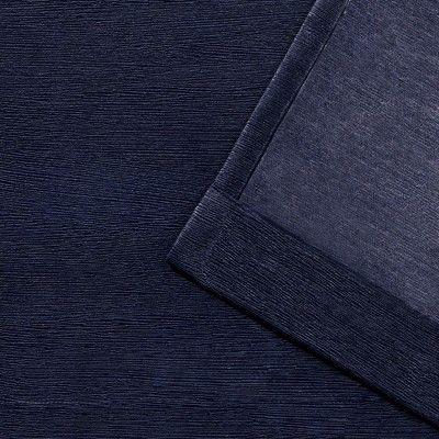 Oxford Textured Sateen Thermal Room Darkening Grommet Top Regarding Oxford Sateen Woven Blackout Grommet Top Curtain Panel Pairs (View 28 of 44)