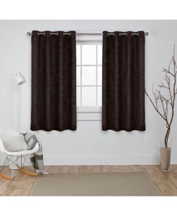 Oxford Textured Sateen Woven Blackout Grommet Top Curtain Pertaining To Oxford Sateen Woven Blackout Grommet Top Curtain Panel Pairs (View 29 of 44)