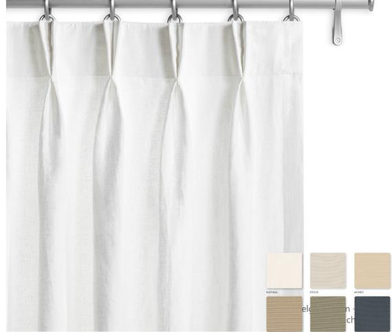 Pair Of Belgian Linen Curtains, Canvas Weight Linen, Custom Curtains, Extra  Long Curtains, 12 Color Choices For Belgian Sheer Window Curtain Panel Pairs With Rod Pocket (View 43 of 46)