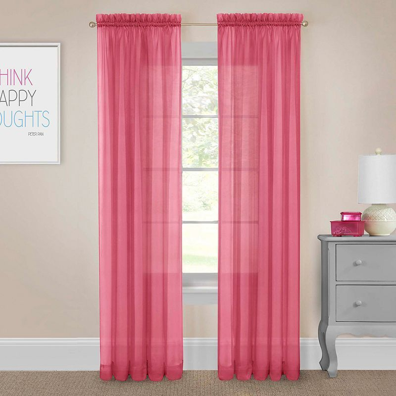 Pairs To Go 2 Pack Victoria Voile Window Curtains | Products Pertaining To Pairs To Go Victoria Voile Curtain Panel Pairs (#13 of 30)