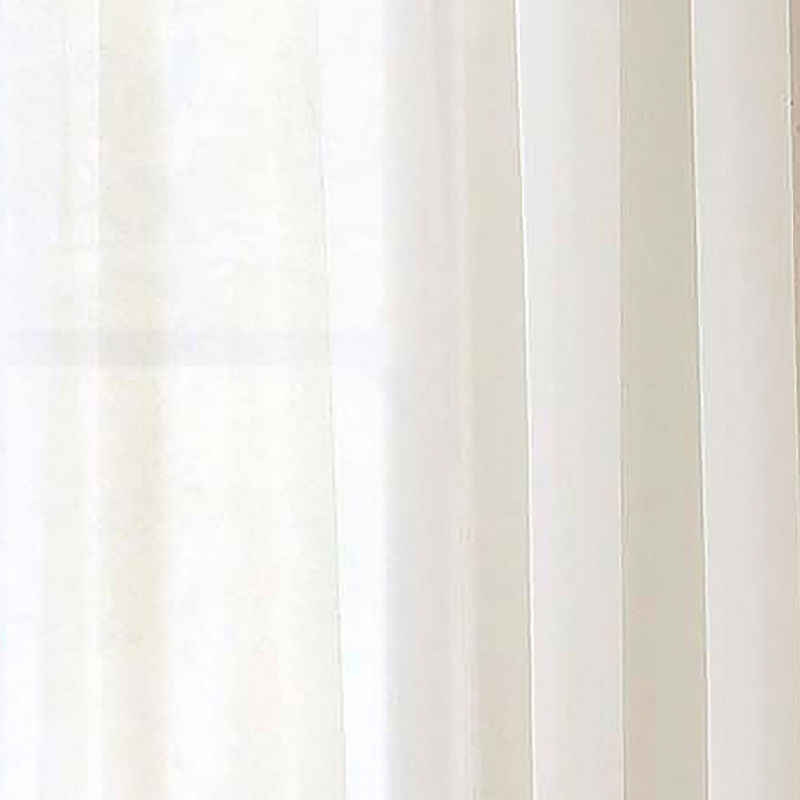 Pairs To Go Victoria Voile 2 Pack Rod Pocket Curtain Panel For Pairs To Go Victoria Voile Curtain Panel Pairs (#16 of 30)
