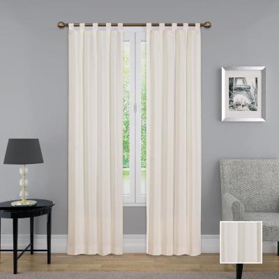 Pairs To Go Victoria Voile Window Curtain Panel Pair In Grey Regarding Pairs To Go Victoria Voile Curtain Panel Pairs (#19 of 30)