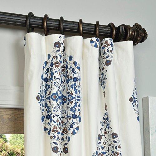 Panels – Half Price Drapes Prtw D24A 96 Printed Cotton Regarding Mecca Printed Cotton Single Curtain Panels (View 50 of 50)