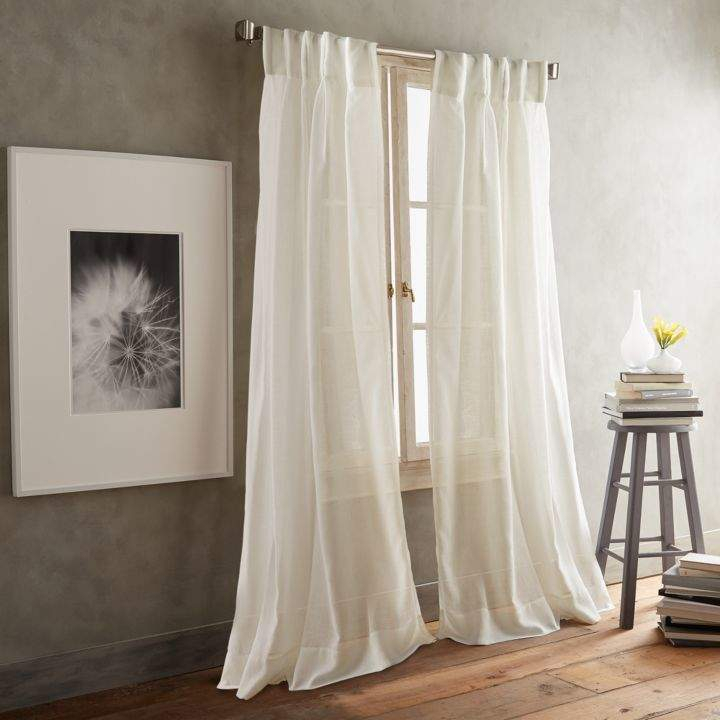 Paradox 108 X 50 Inverted Pleat Window Panel, Pair In 2019 With Elowen White Twist Tab Voile Sheer Curtain Panel Pairs (View 25 of 36)
