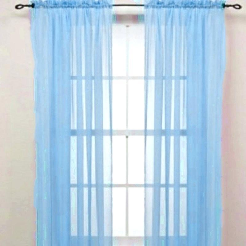 Pastel Damask Printed Room Darkening Grommet Window Curtain Regarding Pastel Damask Printed Room Darkening Grommet Window Curtain Panel Pairs (#36 of 50)