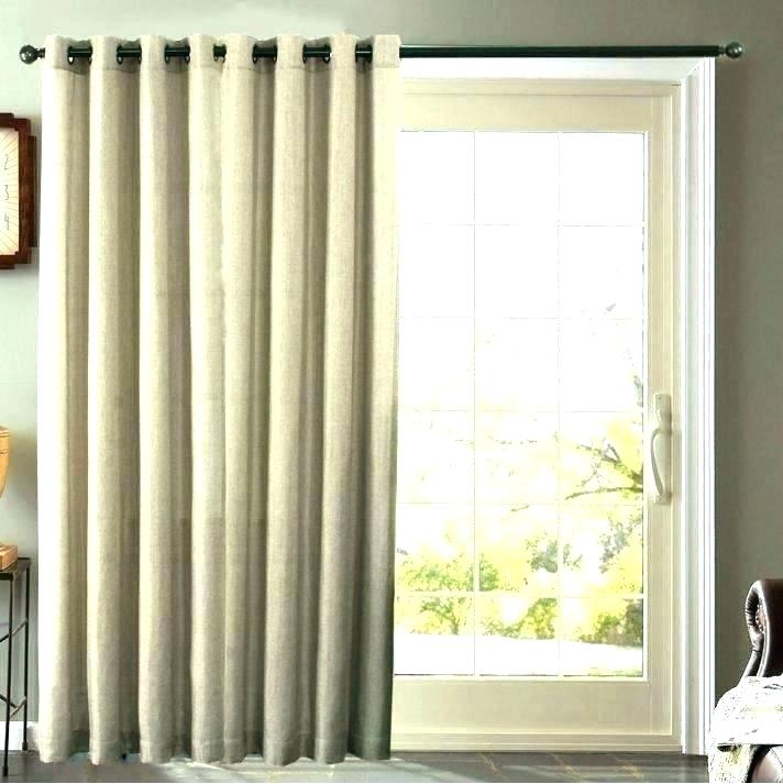 Patio Curtain Panel Blackout Grommet Patio Curtain Panel In Grommet Blackout Patio Door Window Curtain Panels (View 17 of 50)