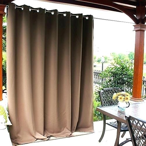 Patio Curtain Panel – Frogfreaks Throughout Grommet Blackout Patio Door Window Curtain Panels (View 18 of 50)