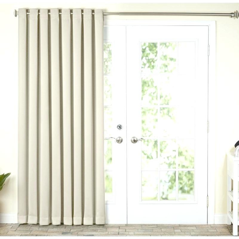 Patio Curtain Panel – Jpgsph Intended For Grommet Blackout Patio Door Window Curtain Panels (View 20 of 50)