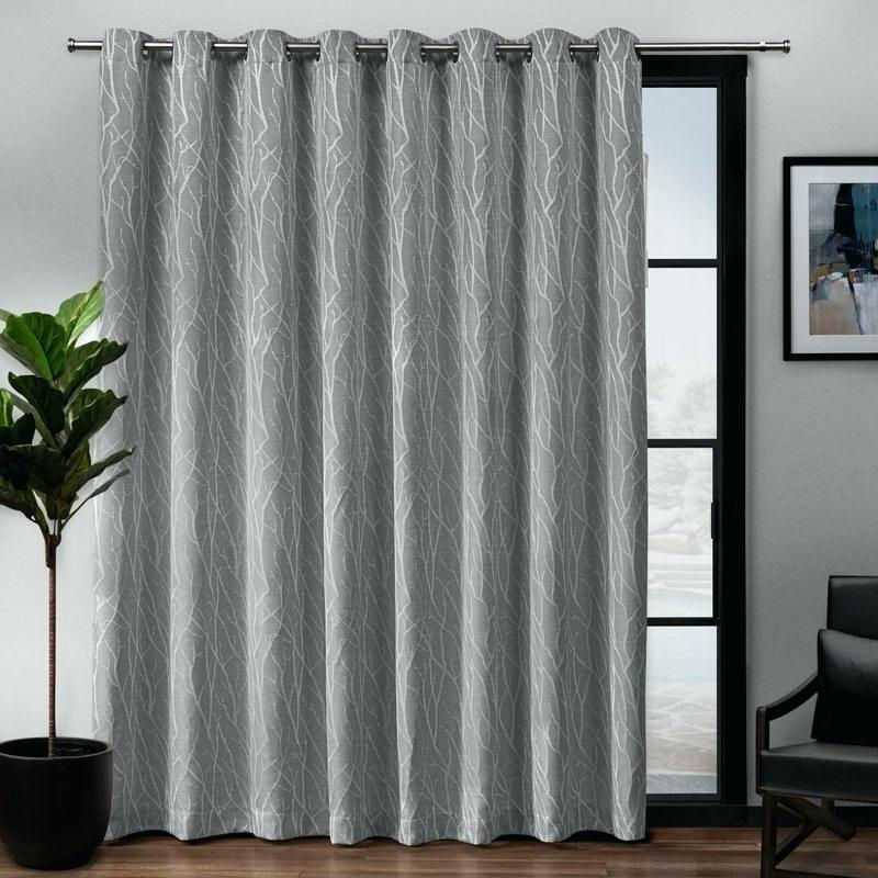Patio Curtain Panel – Jpgsph Intended For Grommet Blackout Patio Door Window Curtain Panels (View 19 of 50)