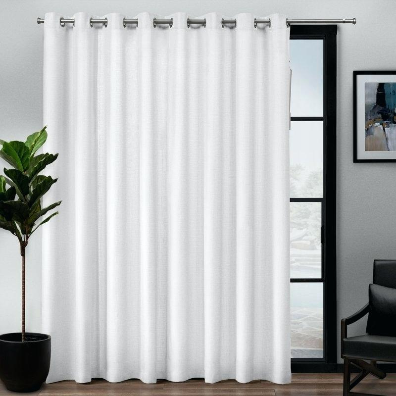 Patio Curtain Panel – Plataformamovimientosocial Intended For Grommet Blackout Patio Door Window Curtain Panels (View 22 of 50)