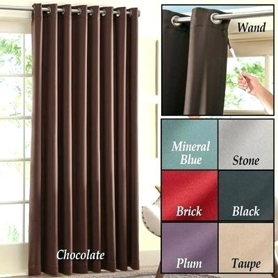 Patio Door Curtain Panel – Tolerancebreak With Copper Grove Speedwell Grommet Window Curtain Panels (#34 of 50)