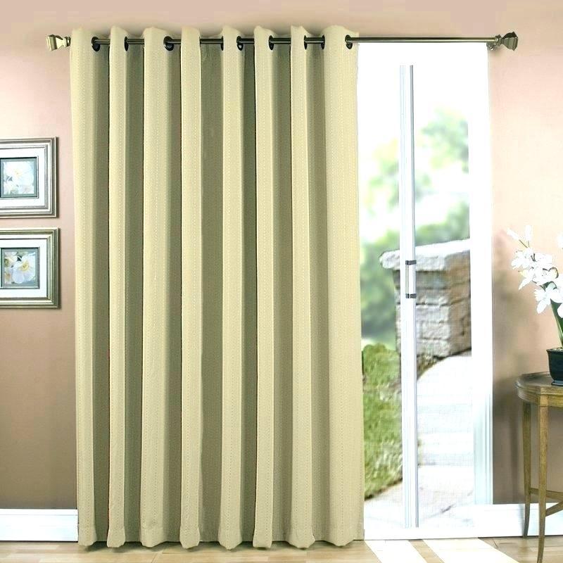Patio Door Curtains Grommet Top – Cimentar For Patio Grommet Top Single Curtain Panels (#26 of 38)