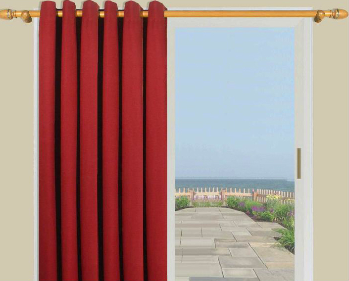 Patio Door Curtains – Thecurtainshop Pertaining To Patio Grommet Top Single Curtain Panels (View 5 of 38)
